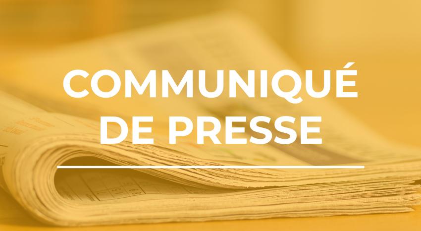 Communiqué de presse - Synofdes